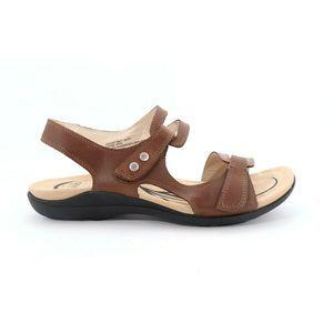 Abeo Crescent Sandals Brown Size US 6.5  (EPB)4376
